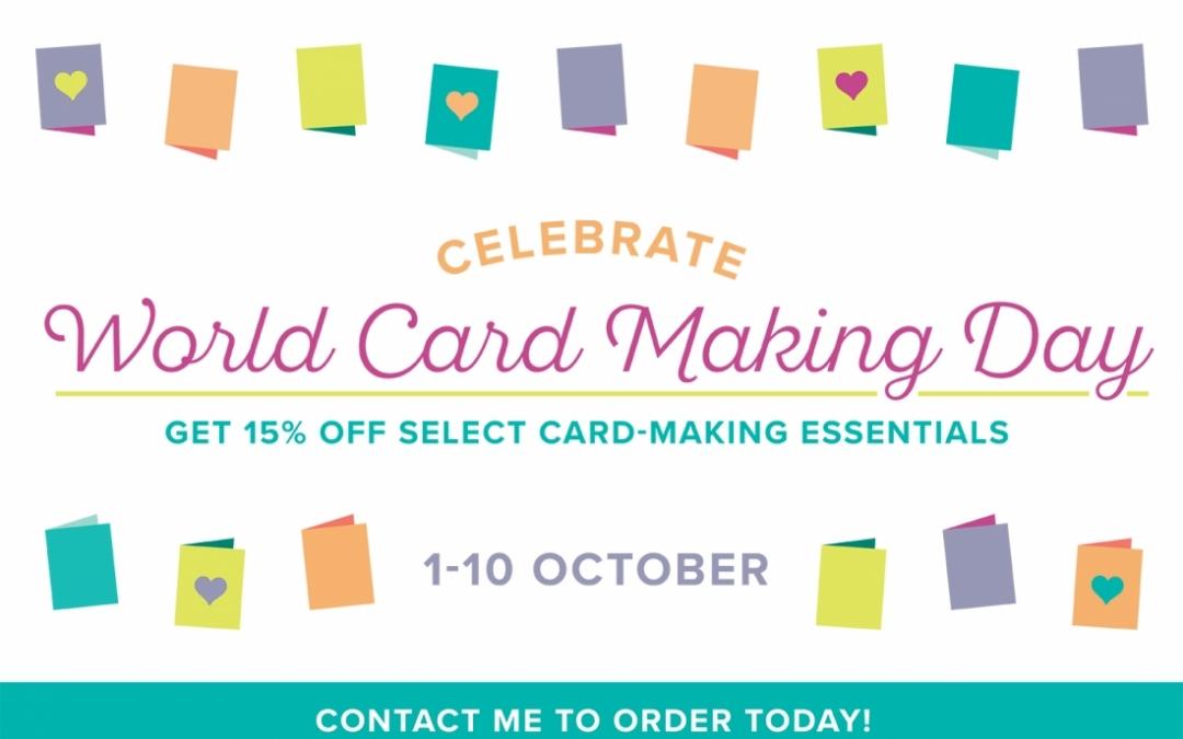 Make World Card Making Day Last Longer #WCMD