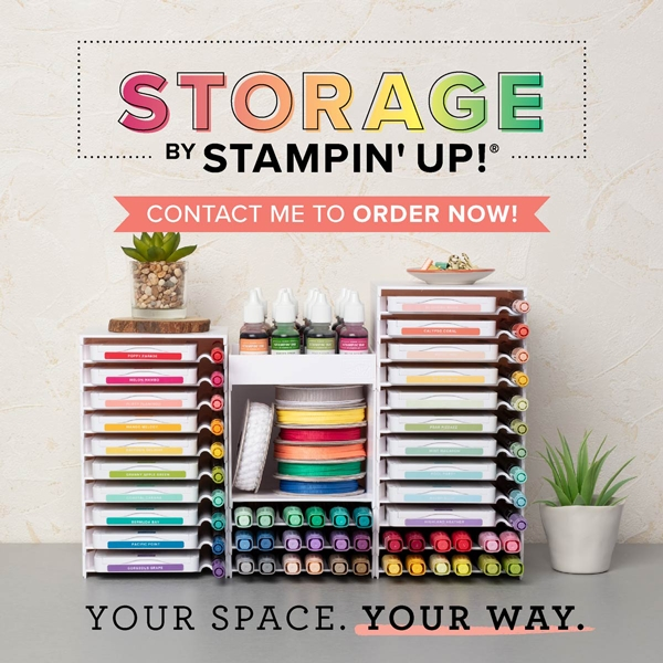 Storage by Stampin' Up! is here! (No April's Fools Joke!)