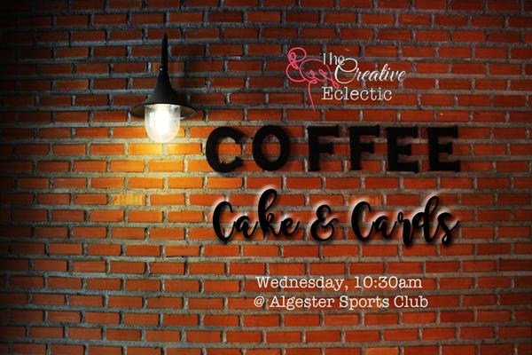 Wonderful Wednesdays – Coffee, Cake & Cards