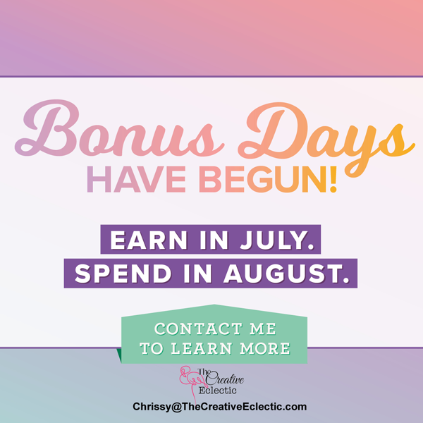 Bonus Days with Stampin' Up Starts Today!