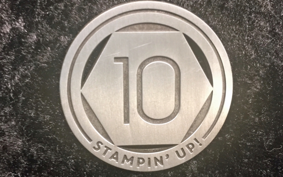 10 years with Stampin' Up!