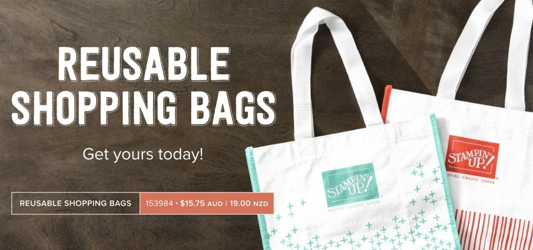 New Product Alert – Reusable Shopping Bags