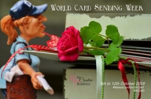 World Card Sending Week- 6-12 October 2019. #sendacard #SUdifferencemaker #makeadifference #makeacardsendacard #WCMDwithSU #handmadecards