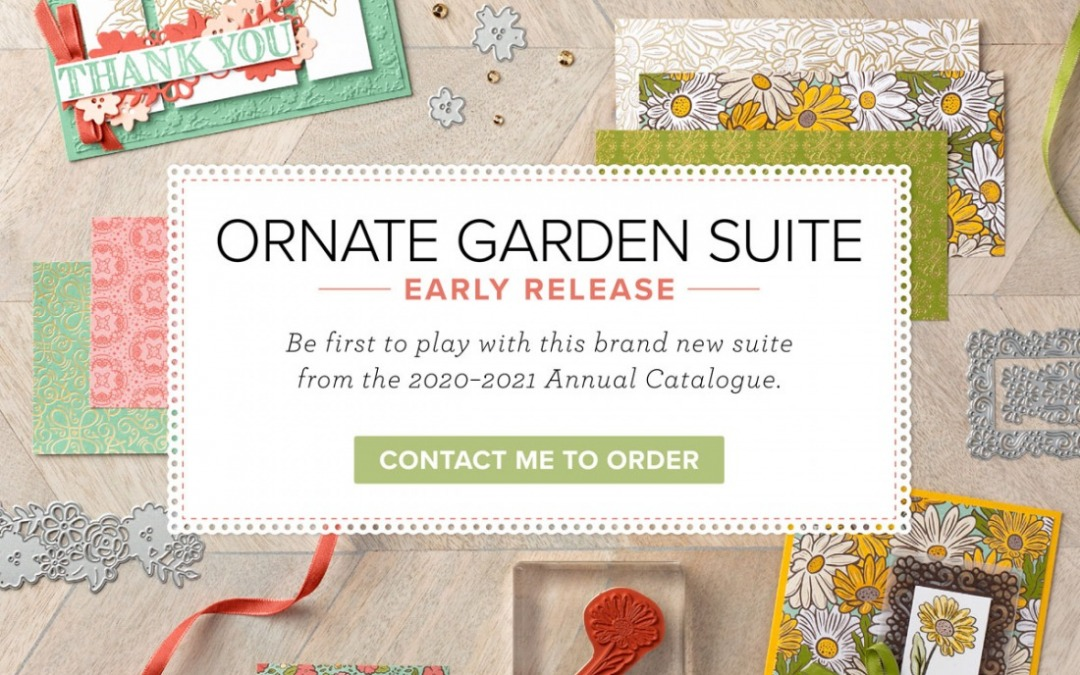 Ornate Garden Suite – new product release