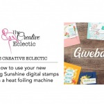Learn hw to use Share Sunshine COVID19 Giveback PDF with your Minc or Heat foil machine