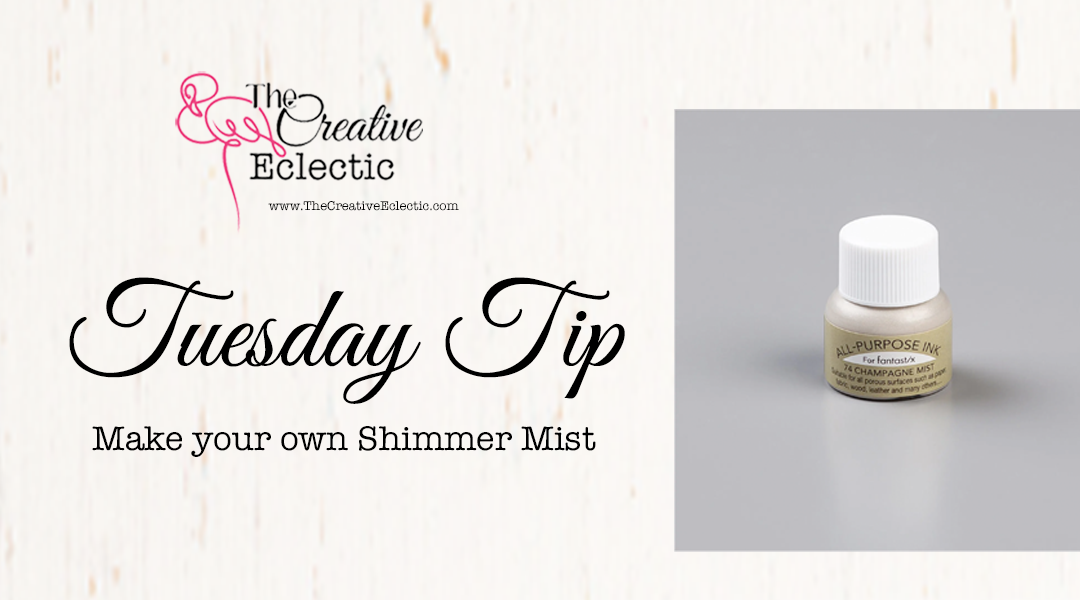 Make your own Shimmer Mist